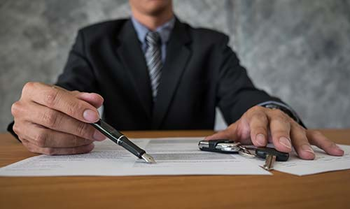 Firma escritura de compraventa de vivienda ante notario