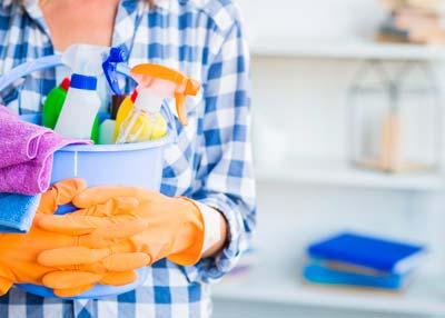 Es conveniente limpiar el piso antes de alquilarlo