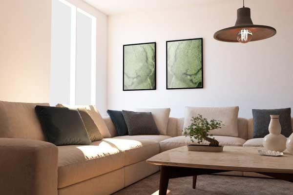Casa de ejemplo sobre cómo fotografiar una casa para vender